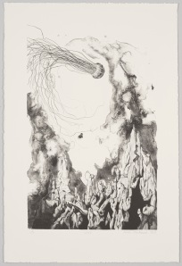 Lost, lithograph on rag paper, 2013